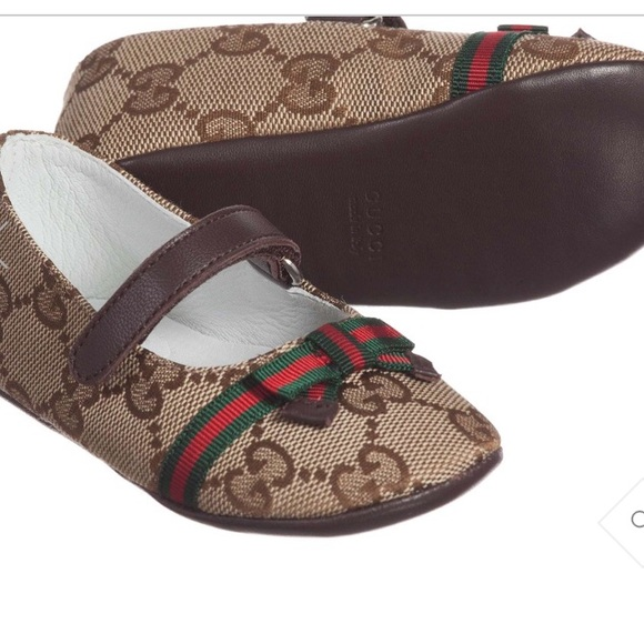 a73731f19 Gucci baby girl shoes pre walker size 19